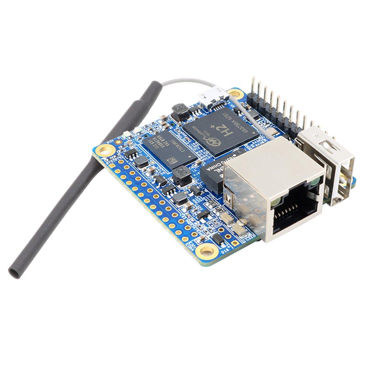 Makerfocus Orange Pi Zero H2 Quad Core Open-source 256MB Development Board with Wifi Antenna by MakerFocus (Image #3)