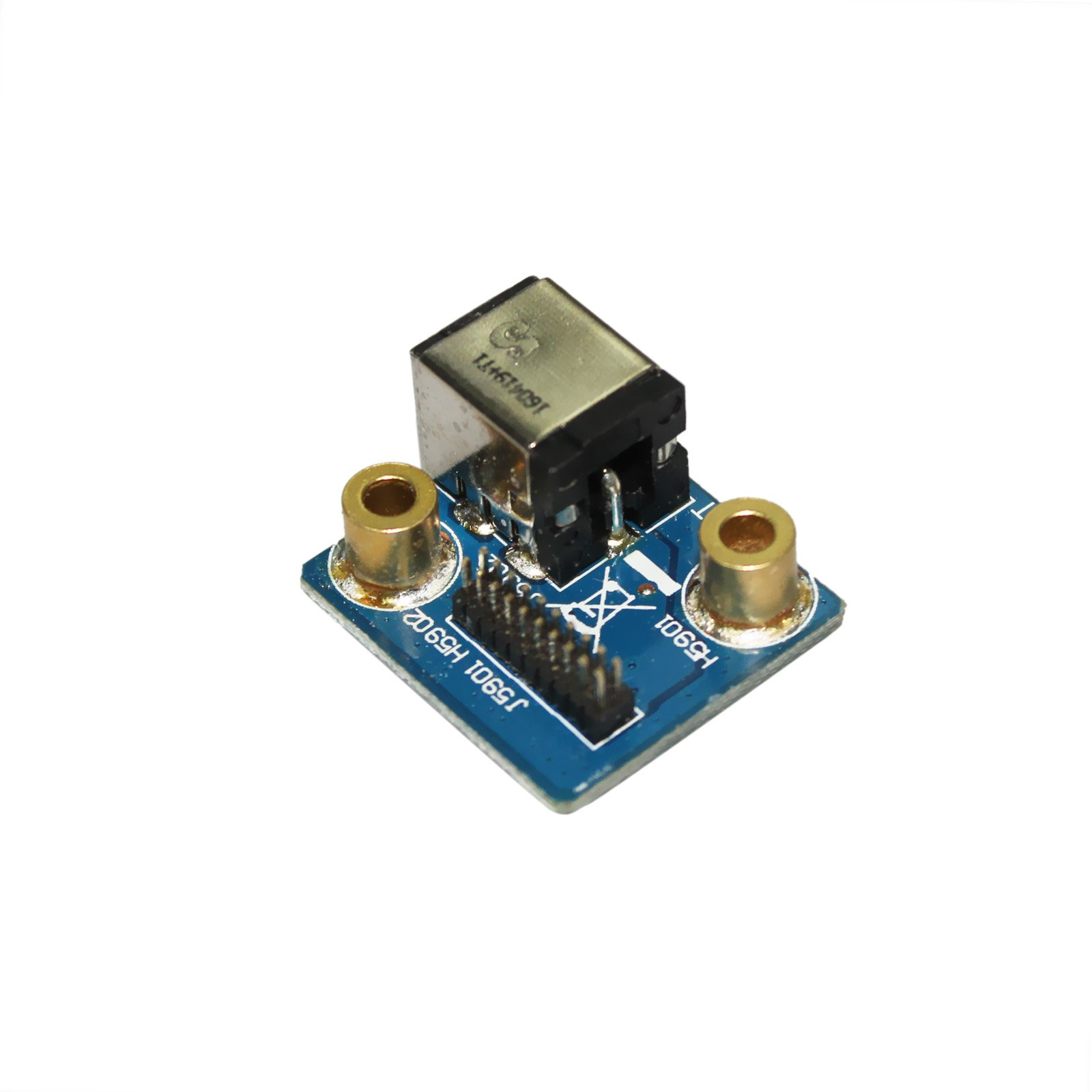 GinTai DC Power Jack Board Charging Port for Asus RoG G75 G75V G75VX G75VW G75VM G75VX-BHI7N1 69N0NQC10C01 by GinTai (Image #2)