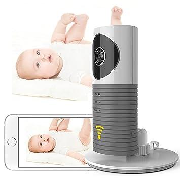 Cadrim Mini Kamera 720p Ip Funk Überwachungskamera Wlan Mit Babypflege Monitor Sicherheit