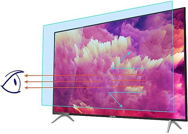 HOUSHIYU-521 40 En Protector De Pantalla De TV Anti Blue Light, Filtra La Luz Azul Dañina, Aliviar La Fatiga Y Proteger La Vista, 87.5X48.3cm: Amazon.es: Hogar