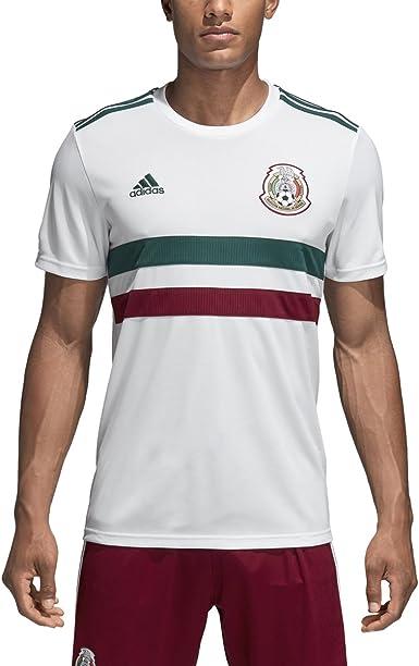 Adidas Mexico Réplica de camiseta para hombre 2018: Amazon.es: Ropa y accesorios