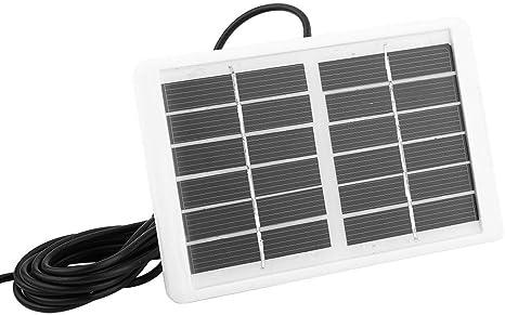 Jacksking Panel Solar, Cargador de Panel Solar portátil ...