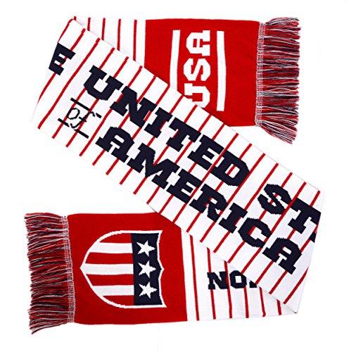 (USA Soccer High-Definition HD Knit Scarf (Stripes))