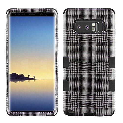 MyBat Samsung-Galaxy Note 8 TUFF Hybrid Phone Protector Cover [Military-Grade Certified] - GreyBlazer/Black