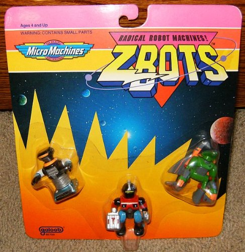 Used, Micro Machines ZBots (Z-bots) 3 Pack #4 for sale  Delivered anywhere in USA