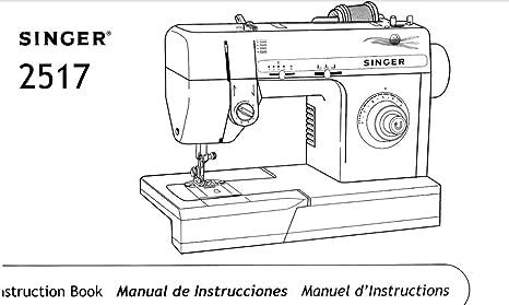 Descargar Pdf-File Singer 2517 Máquina de coser: Amazon.es: Hogar