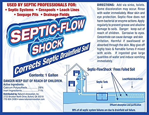 Septic Flow Septic System Shock Repair Unclogs