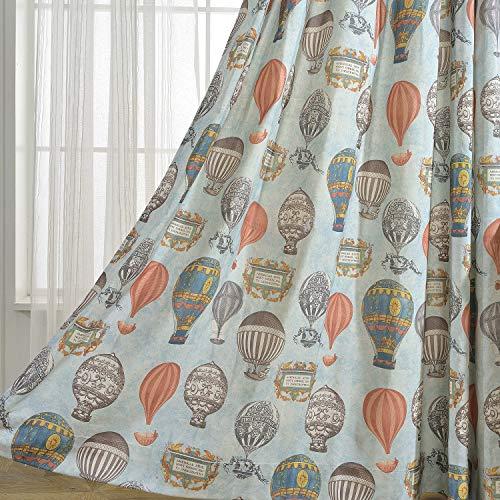 hot air balloon curtains window - 6