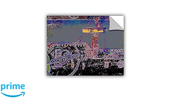 Thomas Removable Graphic Wall Art 14 x 18-Inch ArtWall Artapeelz Dean Uhlinger Just Drive St