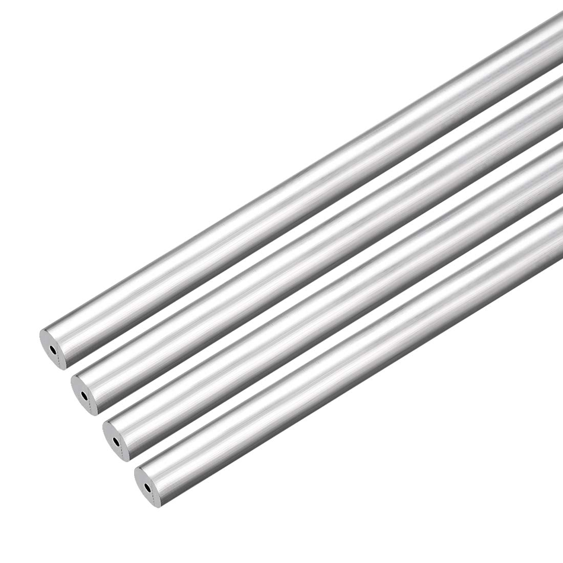 uxcell 4Pcs 6063 Seamless Aluminum Round Straight Tubing Tube 1 Feet Length 0.156 Inches ID 0.273 Inches OD