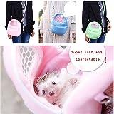 AlwaySky Pet Carrier Hamster Rat Hedgehog Rabbit