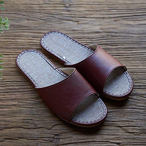 41 linen black slippers 40 Summer qg1tTwT