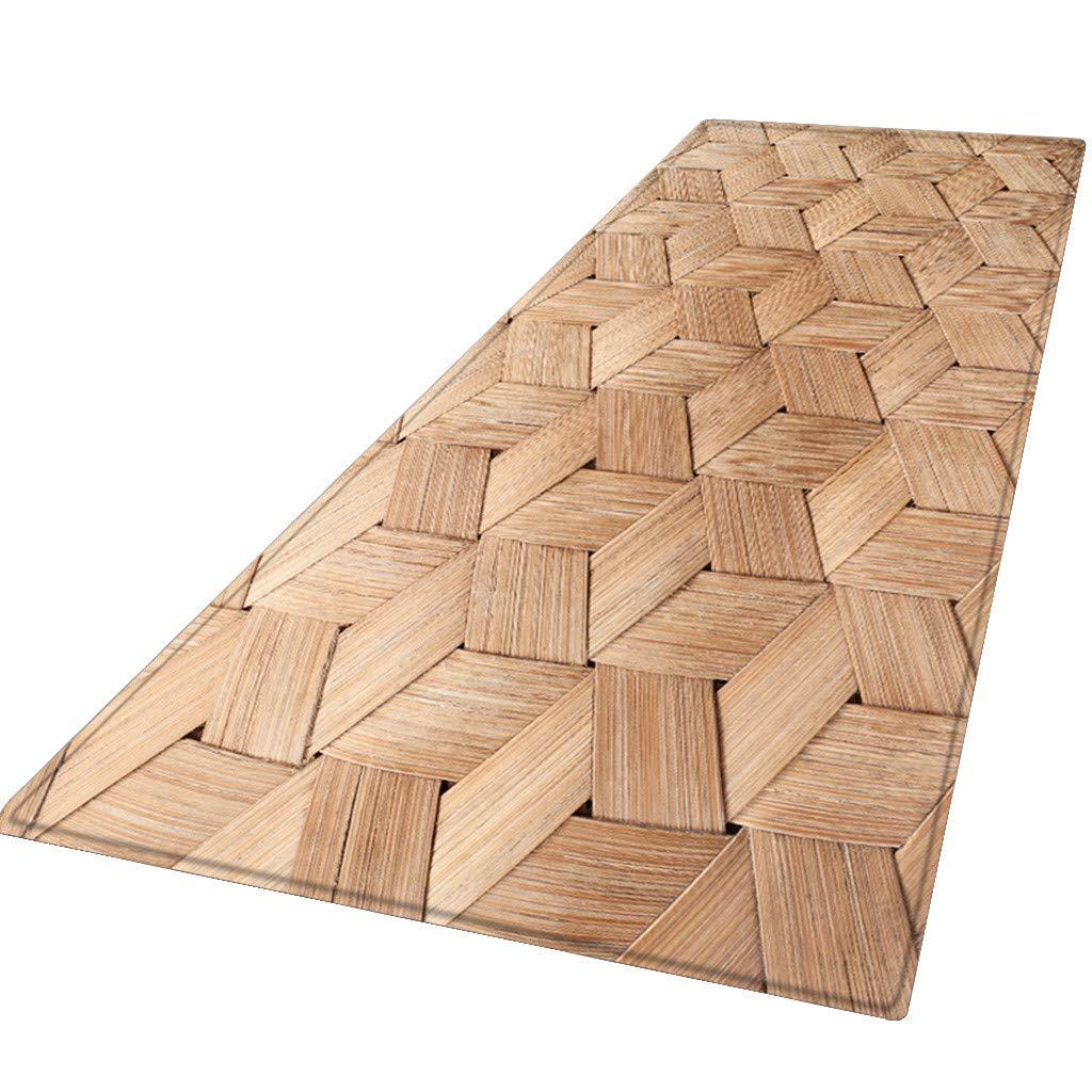 LUXISDE 60X180 cm Carpet Hallway Doormat Anti - Slip Carpet Absorb Water Kitchen Mat