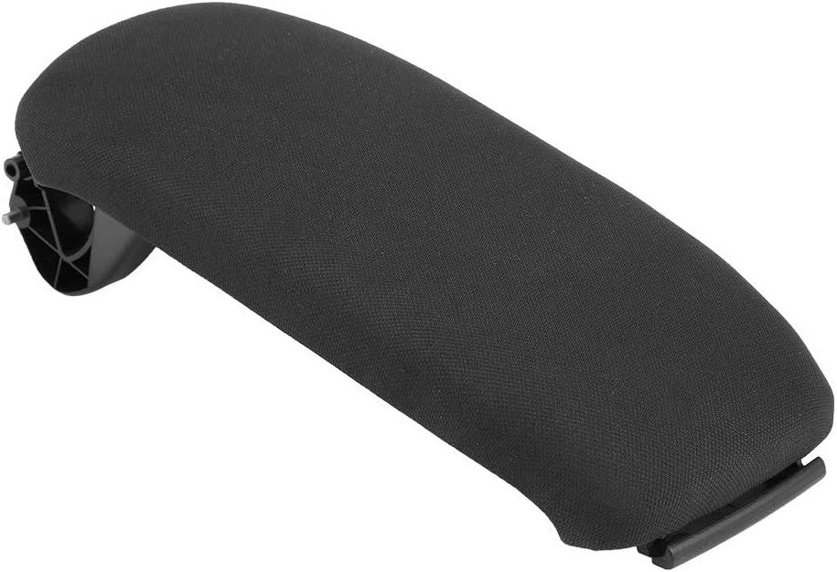 A5 2003-2013 8P0864245P Aunjia Central Armrest Cover,Car Black Center Console Armrest Lid Cover for A3 8P