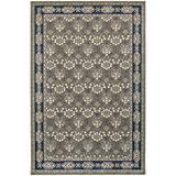 Oriental Rug, Grey Classic Silky Soft Traditional Rug, 12′ X 15′ Review