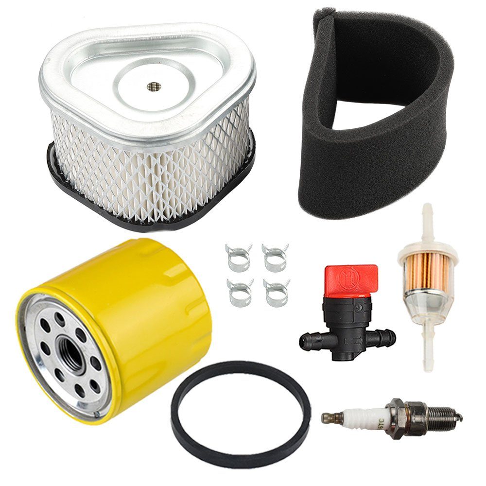 12 083 05-S 12 883 05-S1 1208314 Air Filter with Oil Filter Maintenance Kit for Kohler Command Pro CV11 CV12.5 CV13 CV14 CV15 CV16 Lawn Mower for John Deere GY20574 M92359 AM121608 Lesco 050585