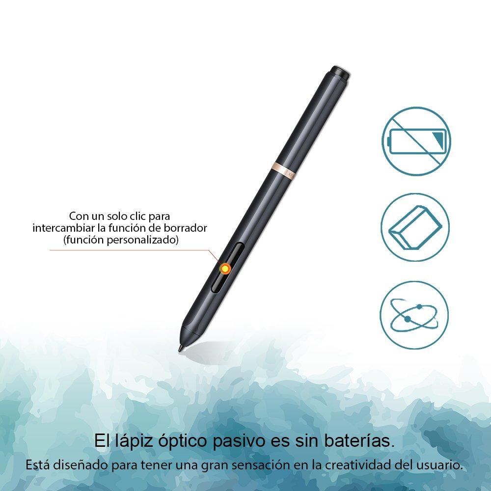 XP-Pen Star 03 Tableta Gr/áfica 10x6 8 Teclas Express Viene con el /Último Software de Dibujo de OpenCanvas 7