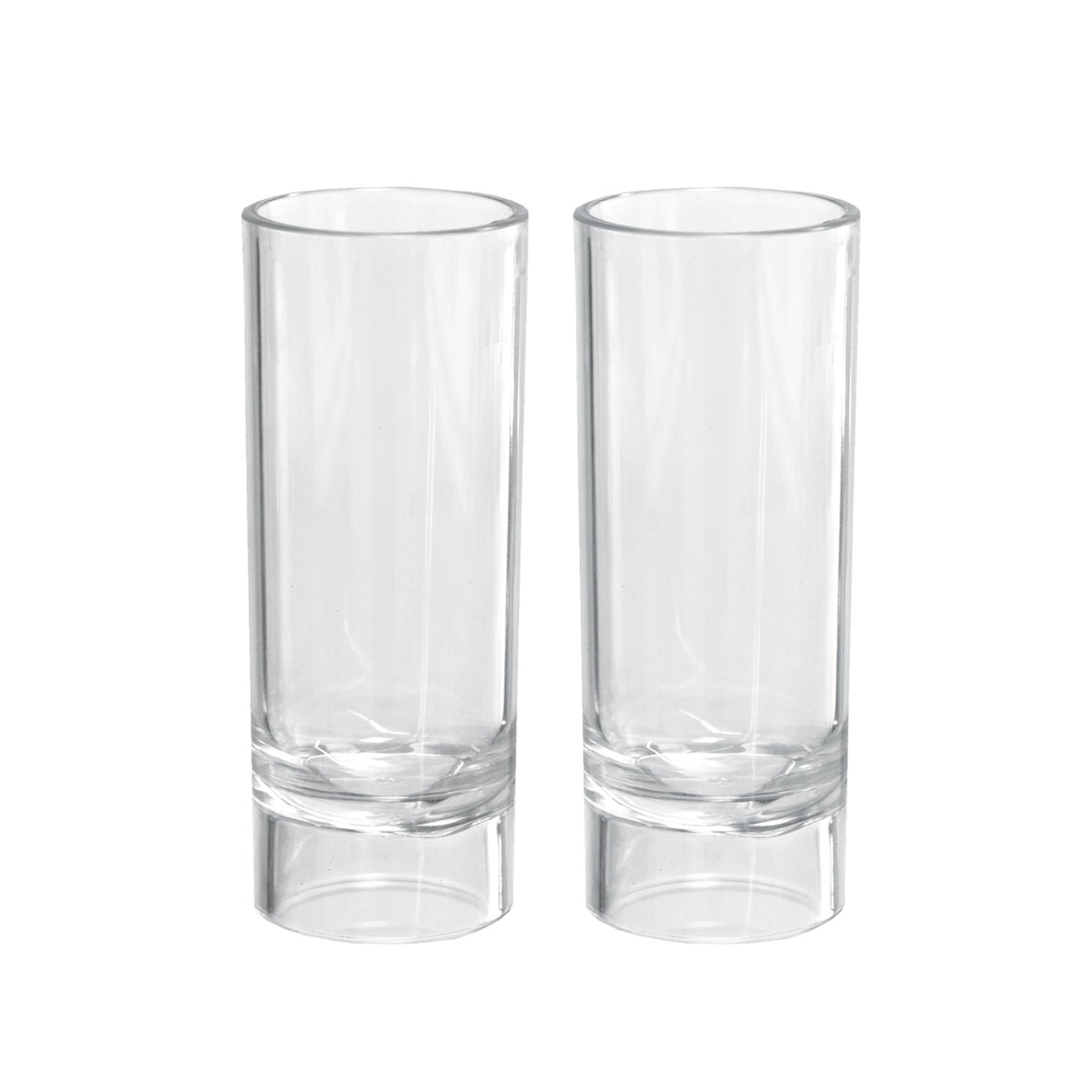 Party Essentials Hard Plastic 2-Ounce Shooter Glasses, Clear, 10 Count by Party Essentials
