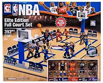 NBA C3 Construction Elite Edition Full Court Building Set  | Building Toys