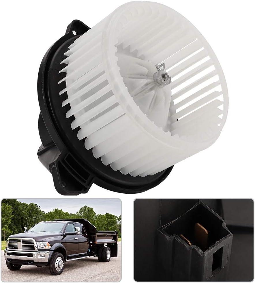 Qiilu Blower Motor Fan Assembly for 02-08 Dodge Ram 1500 02-04 Jeep Grand Cherokee 5096256AA Blower Fan 09-10 Dodge Ram 4500//5500 03-09 Dodge Ram 2500//3500