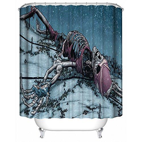 Cool Life Style NCAA Oklahoma Sooners Polyester Bathroom Waterproof Shower Curtain from SteelerMania
