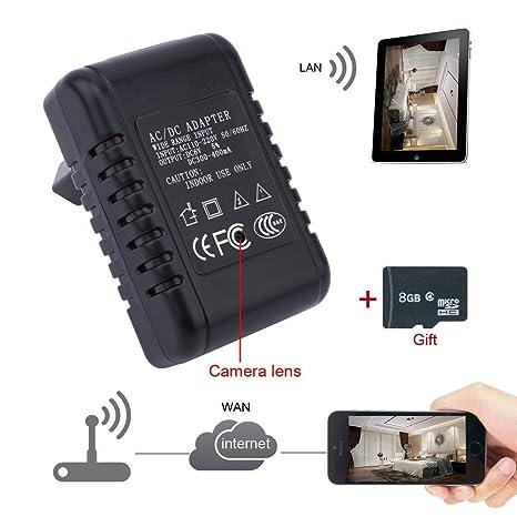 Electro-Weideworld - 720P P2P Wifi IP Cámara Espía Adaptador Grabadora de Vídeo Espía USB