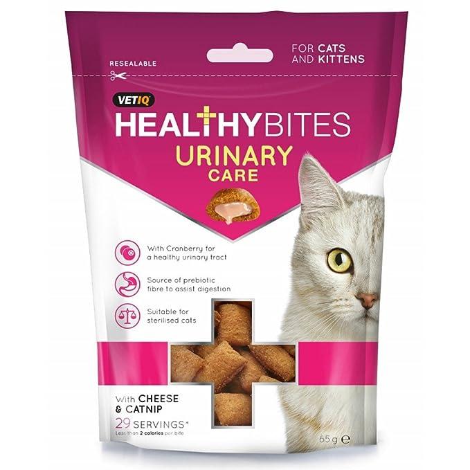 VETIQ - Snack de cuidado urinario para gatos (65g) (Variado ...