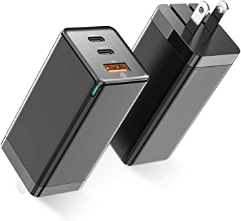 Baseus 65W 3 Port PD 3.0 Gan Tech USB C Charger
