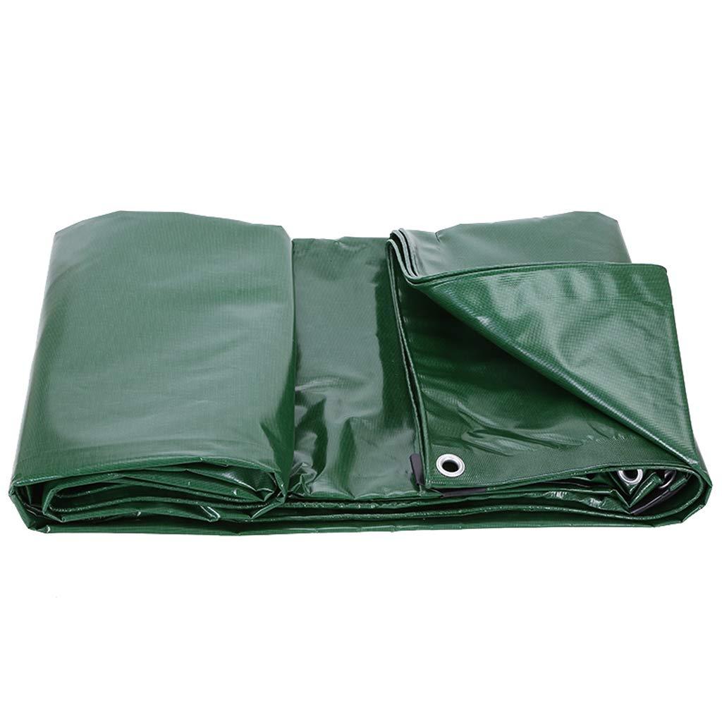 サンシェード 厚いプラスチックシート防雨日焼け止めターポリン屋外天井布PVCコーティング防水ふわふわ布 Rollsnownow (サイズ さいず : 4m*4m) 4m*4m  B07HK93S8J