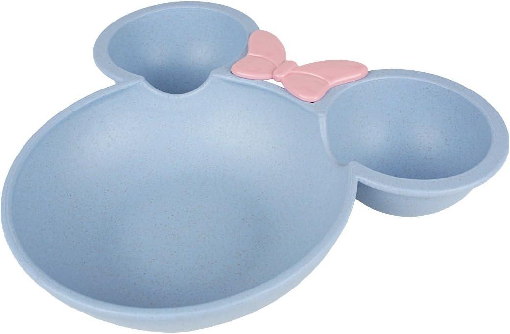 bleu Andux Zone Baby Bowl B/éb/é Enfant bol cuill/ère dApprentissage Vaisselle Set B/éb/é ERWTZ-01