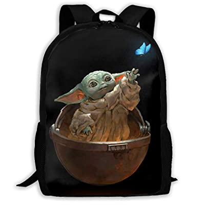 Dean Carnegie Ba-by Yo_Da 3D Graphic Shoulder Bag Backpack School Bookbags for Adult: Home & Kitchen