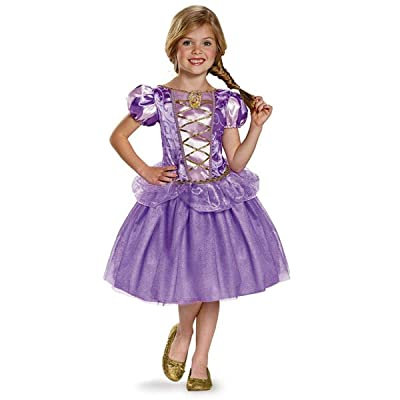 Rapunzel Classic Disney Princess Tangled Costume, Medium/7-8: Toys & Games