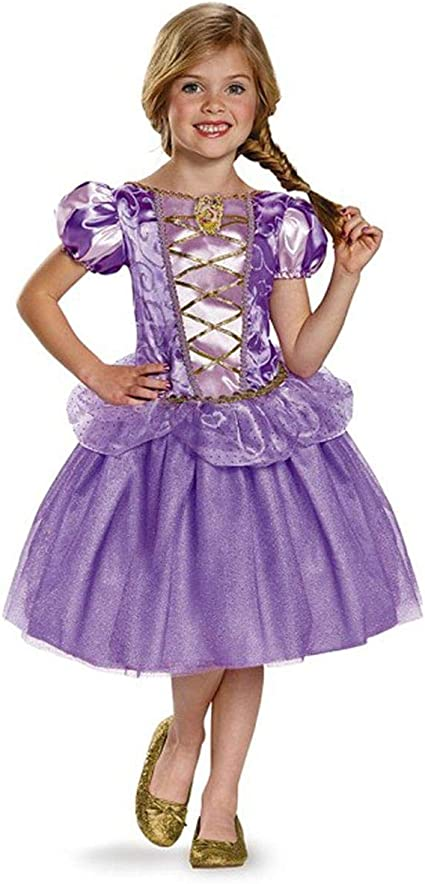 Rapunzel Classic Disney Princess Tangled Costume One Color Disguise Costumes Toys Division 98478L Small//4-6X