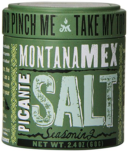 Montana Mex Picante Seasoned Sea Salt, 2.4 Ounce