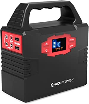ACOPOWER HY-S320 150 Watt Solar Battery Portable Generator