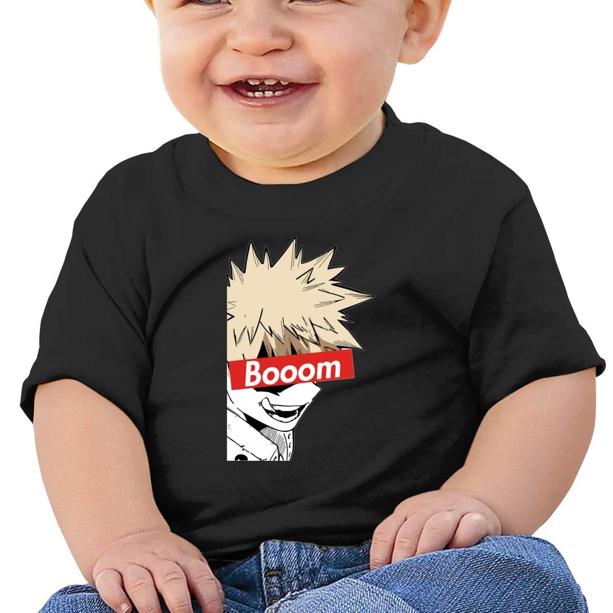 Ba-Ku-Gou Baby T-Shirt Baby Boy Girl Cotton T Shirts Funny Tops for 6M-2T Baby