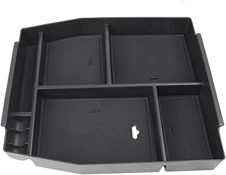 For Ford F-150 F150 2015-2019 Interior Armrest Storage Box Center Console Tray