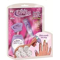 ZURU BUNCH® Salon Express Professional Nail Polish Art Kit Decals Paint Stamp Design Kit.