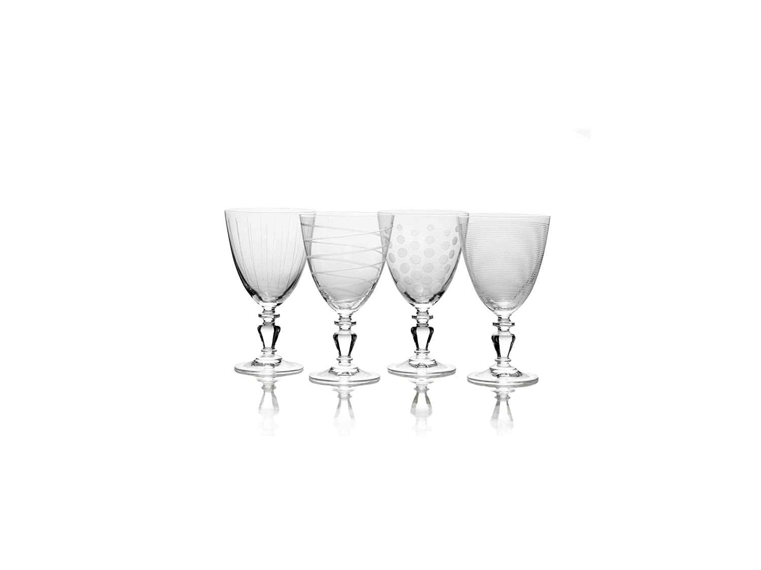 11.75-ounce Clear Mikasa 5252596 Cheers Vintage Goblet