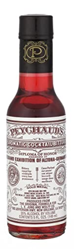 DR PEYCHAUDS Cocktail Bitters 5 FL OZS