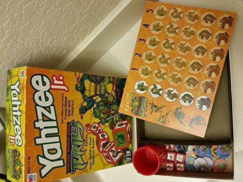 Yahtzee Jr. Teenage Mutant Ninja Turtles Edition