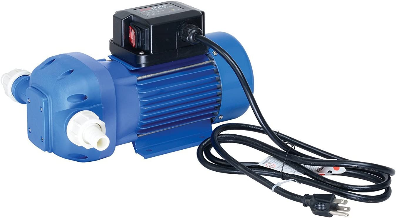 Auto Nozzle 8 GPM Electric DEF Transfer Pump Kit for Chemical Fluid//Urine /& Auto Nozzle FUELWORKS 120 Volts