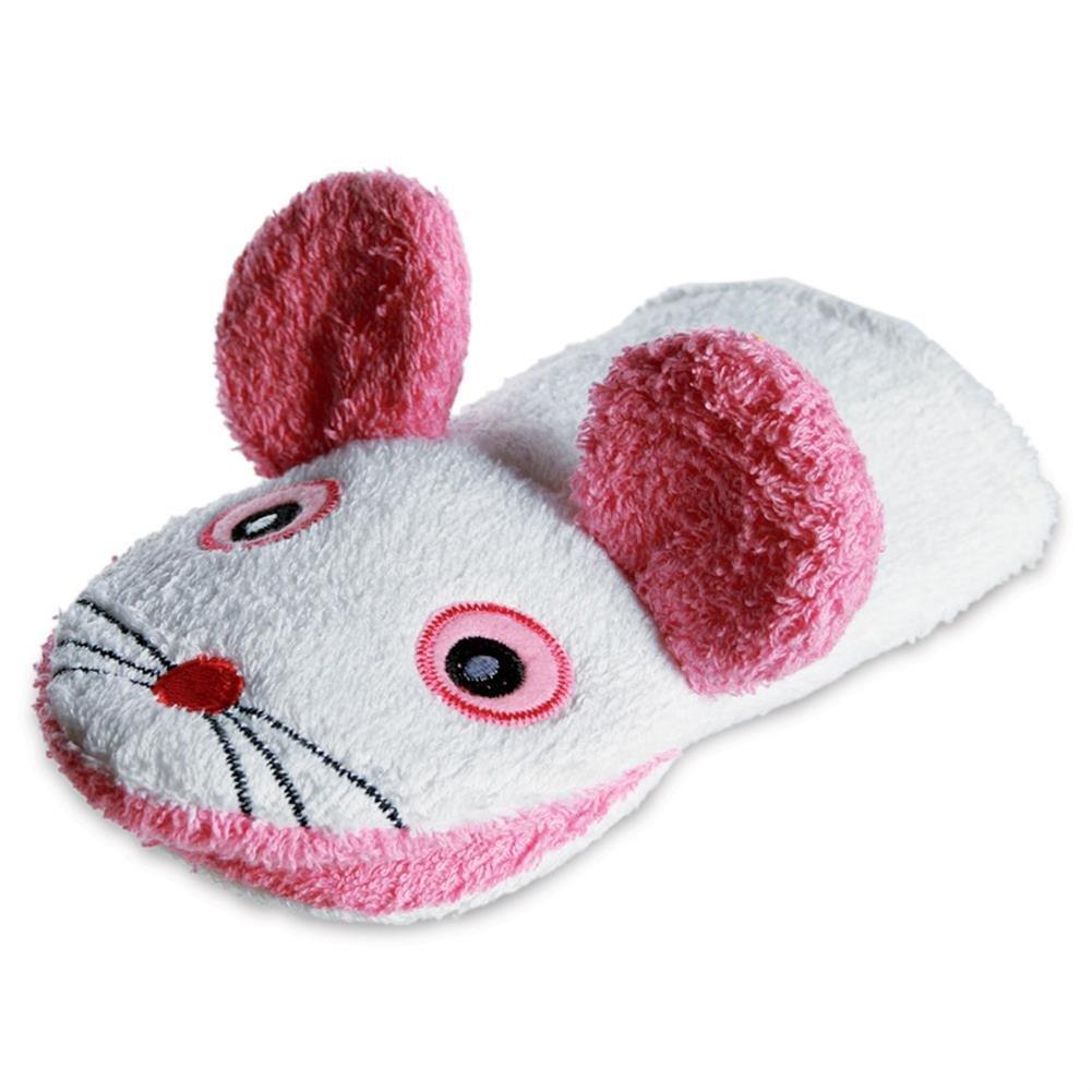 Wash Mitt Sponge Mouse Children's Cloth Figure Cotton 13.5 x 22 cm HC-Handel®