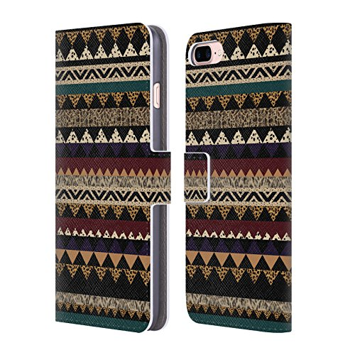 (Official Vasare NAR Bisque Vasare Patterns 2 Leather Book Wallet Case Cover for iPhone 7 Plus/iPhone 8 Plus)