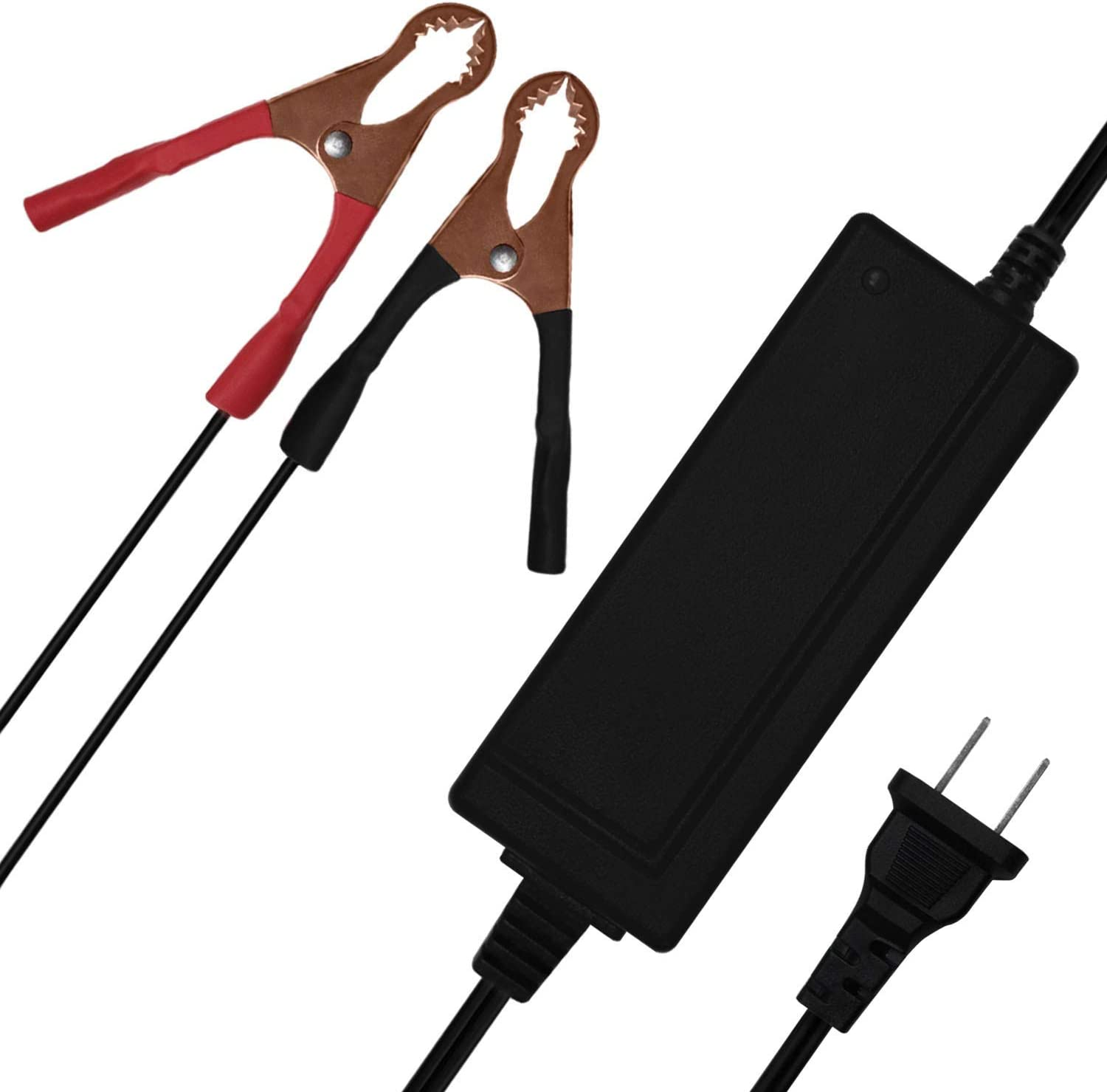 Mighty Max Battery 12V 2A Charger MAINTAINER for 12V 5AH Garden Leaf Blower SLA Battery Brand Product