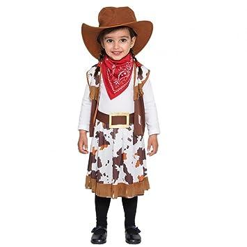 Fyasa 706373-tbb disfraz de vaquera, pequeño: Amazon.es: Juguetes ...