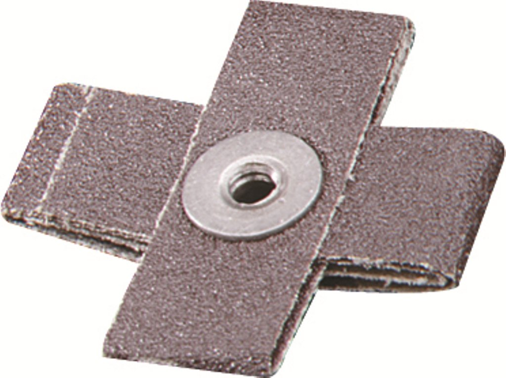 United Abrasives-SAIT 48042 1-1/2X1/2 8Ply 80X Cross Pad, 50-Pack