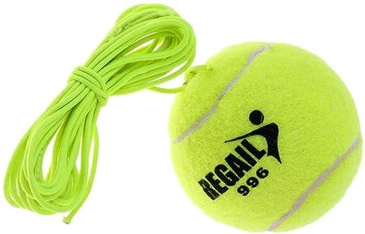 Aokshen - Pelota de Tenis y Cuerda de Repuesto para Entrenador de ...