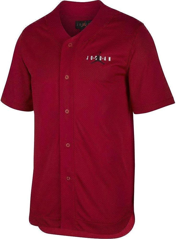 Jordan Jumpman Air Mesh JSY Camisa Manga Corta Hombre Rojo: Amazon.es: Ropa y accesorios