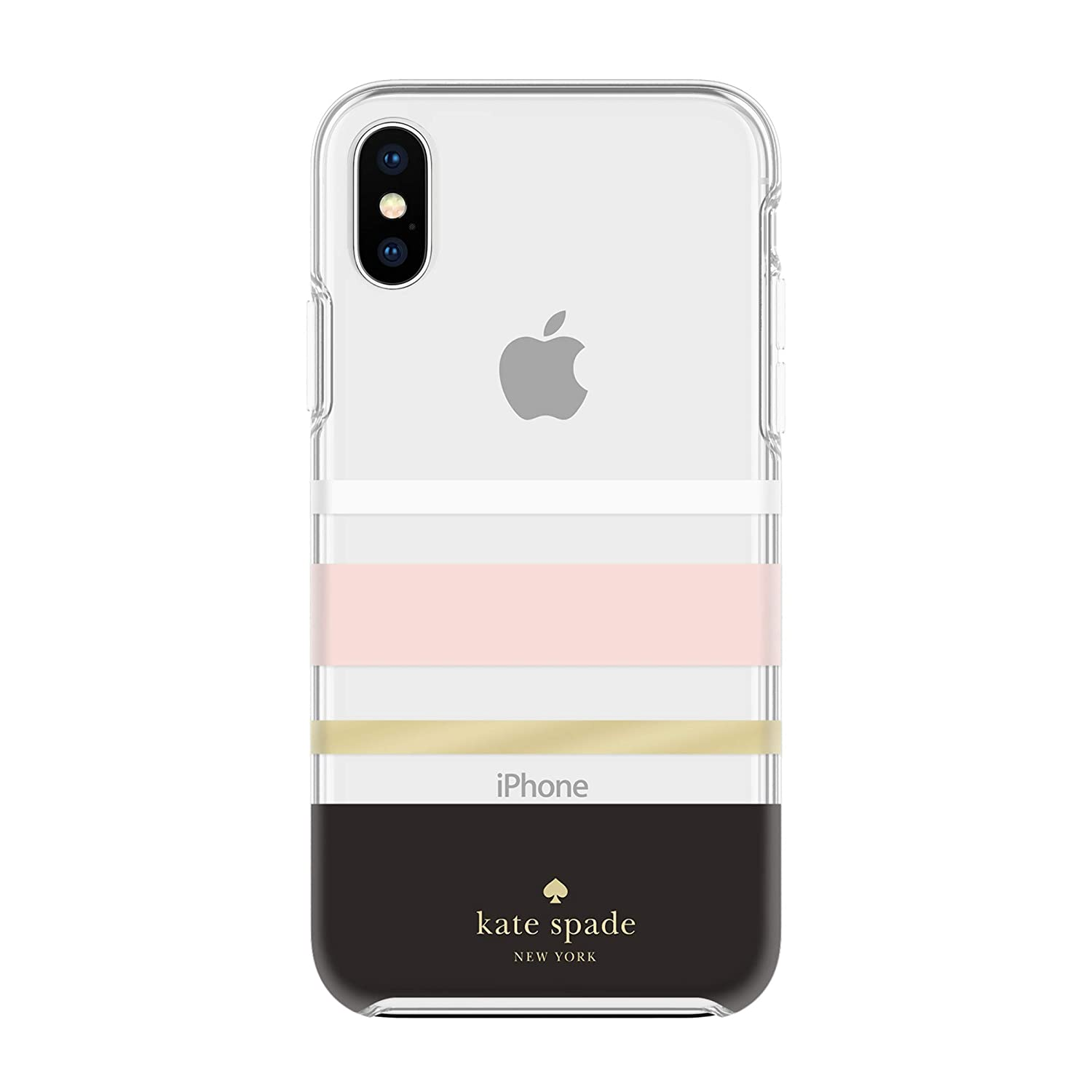 90683517 Kate Spade New York Phone Case for Apple iPhone Xs Max Protective Phone  Cases with Slim Design Drop Protection and Floral Print, Charlotte Stripe  ...